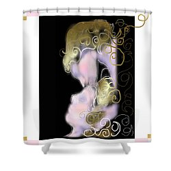 Angel Of Death Kiss Shower Curtain