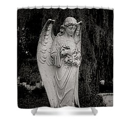 Angel Of Expression Shower Curtain