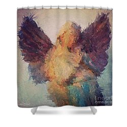 Angel Of Hope Shower Curtain by Robert ONeil