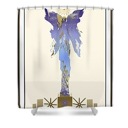 Angel Of Mercy Shower Curtain