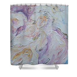 Angel Of Messages Shower Curtain