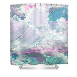 Angel Art Angel Of Peace And Healing Shower Curtain by Sherri's Of Palm Springs