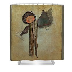 Angel Of The Ages Shower Curtain