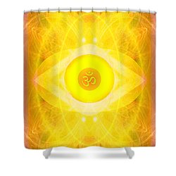 Angel Of The Sun Shower Curtain