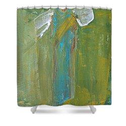 Angel Praise And Worship Shower Curtain