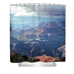 Angel S Gate And Wotan S Throne Grand Canyon National Park Shower Curtain