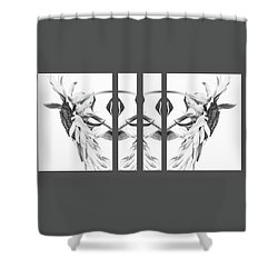 Angel Wings - Shower Curtain