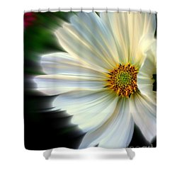 Angelic Shower Curtain by Elfriede Fulda