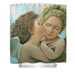 Bouguereau Angels- My Adaptation Shower Curtain