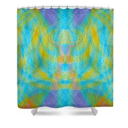 Angelic Presence Shower Curtain