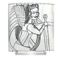 Angelica98 Shower Curtain by Loretta Nash