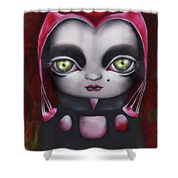 Angelique Shower Curtain by Abril Andrade Griffith