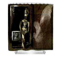 Angels Among Us Shower Curtain