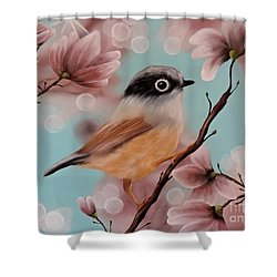 Angels Amongst Us Shower Curtain by Dianna Lewis