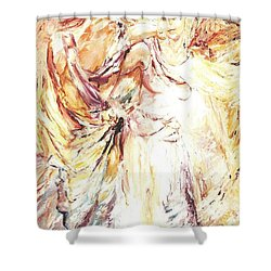 Angels Emerging Shower Curtain