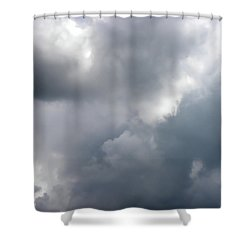 Shower Curtain featuring the photograph Angels In The Sky by Sandi OReilly