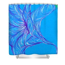 Shower Curtain featuring the photograph Angel's Trumpet by Kim Sy Ok