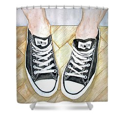 Angel's Verses Shower Curtain