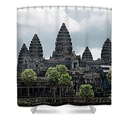 Angkor Wat Focus  Shower Curtain