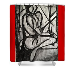 Angled Repose Shower Curtain