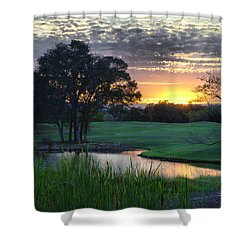 Angles Camp Shower Curtain