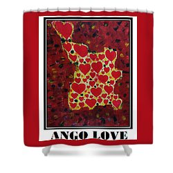 Ango Love Shower Curtain
