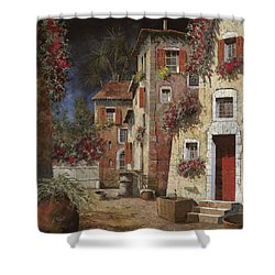 Angolo Buio Shower Curtain by Guido Borelli