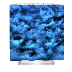 Angry Sky Shower Curtain