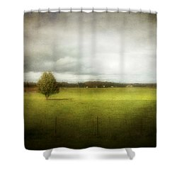 Angustown Pasture Shower Curtain