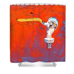 Aniatah Shower Curtain by Jez C Self