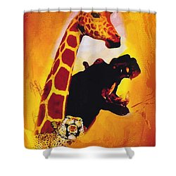 Animal Farm Shower Curtain