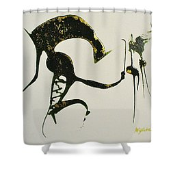 Animalia I Shower Curtain