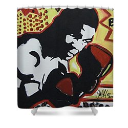 Animated Mike Shower Curtain