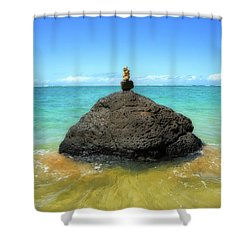 Aninibeach Shower Curtain