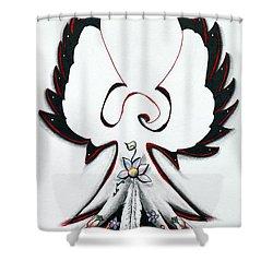 Anishinaabe Thunderbird Shower Curtain