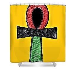 Ankh Life Shower Curtain