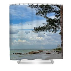 Anna Maria Island  Shower Curtain