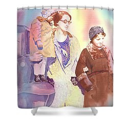 Anna Nation And Her Girls, 1932      Shower Curtain