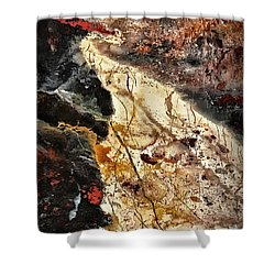 Shower Curtain featuring the photograph Anna River by Walt Foegelle
