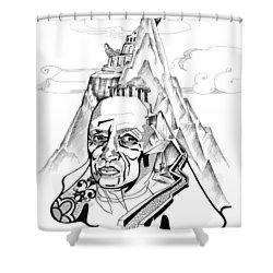 Anna Tylkina Shower Curtain by Yelena Tylkina