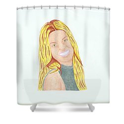 Annalynne Mccord Shower Curtain