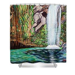 Annandale Waterfall Shower Curtain