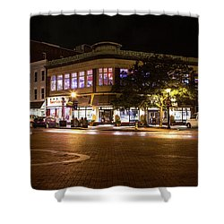 Annapolis At Night Shower Curtain