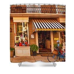 Annapolis Bookstore Shower Curtain