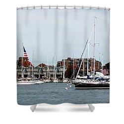Annapolis Harbor Shower Curtain