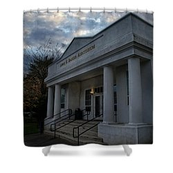 Anne G Basker Auditorium In Grants Pass Shower Curtain by Mick Anderson