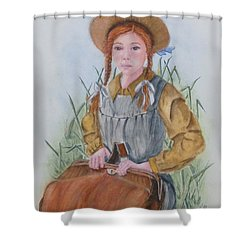 Anne Of Green Gables Shower Curtain by Kelly Mills