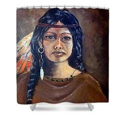 Anne Wolfe Shower Curtain
