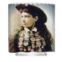 Annie Oakley - Shooting Legend Shower Curtain