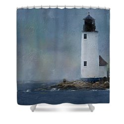 Anisquam Rain Shower Curtain